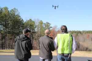 Hands On Drone Flight Training With Equipment